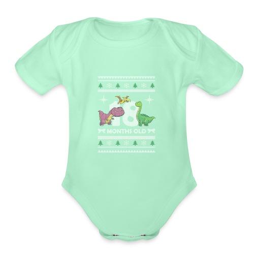 Christmas 18 months old - Organic Short Sleeve Baby Bodysuit
