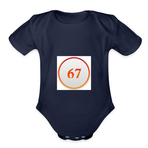 67 - Organic Short Sleeve Baby Bodysuit