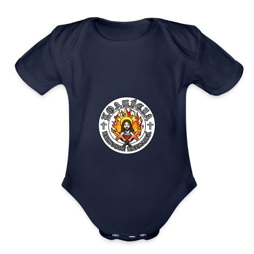 Kristove Kresadlá - Organic Short Sleeve Baby Bodysuit