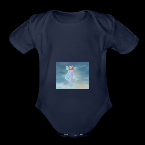Goddess Maker Azaleas Dolls - Organic Short Sleeve Baby Bodysuit