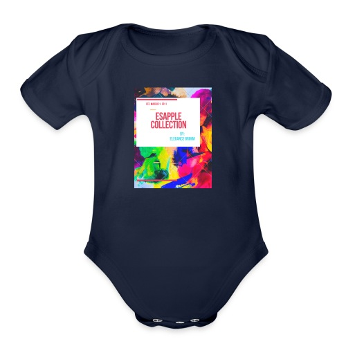 ESAPPLE COLLECTION - Organic Short Sleeve Baby Bodysuit