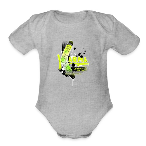 KARMA - Organic Short Sleeve Baby Bodysuit