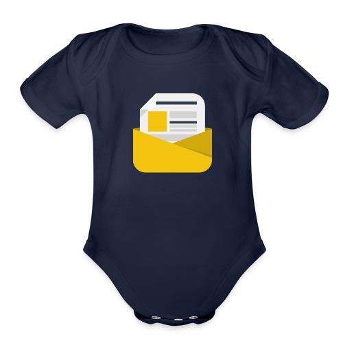 newsletter - Organic Short Sleeve Baby Bodysuit