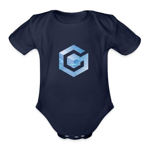 Vaporwave Gamecube - Organic Short Sleeve Baby Bodysuit