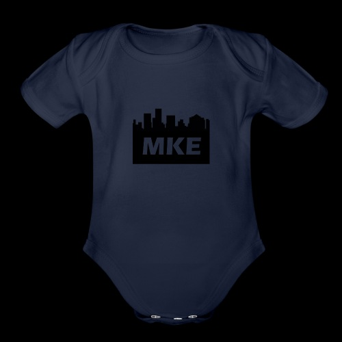 MKE - Organic Short Sleeve Baby Bodysuit