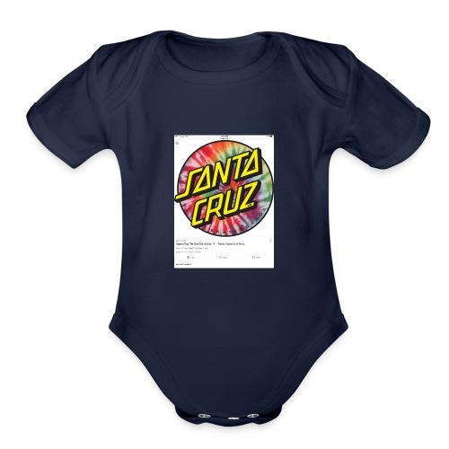 IMG 0102 - Organic Short Sleeve Baby Bodysuit