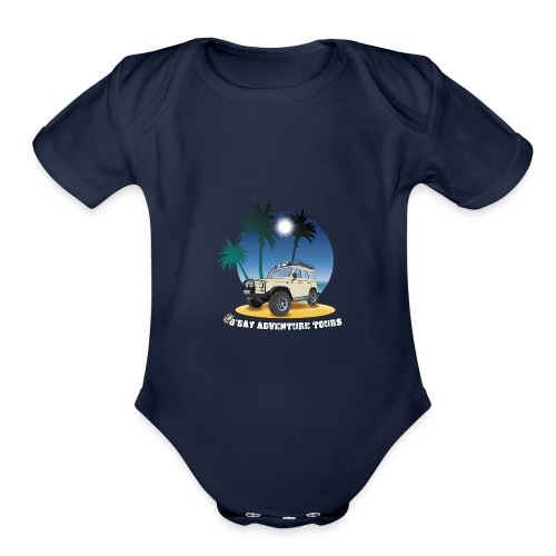 G'day Adventure Tours - Organic Short Sleeve Baby Bodysuit