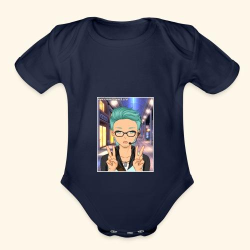 Youtuber Product - Organic Short Sleeve Baby Bodysuit