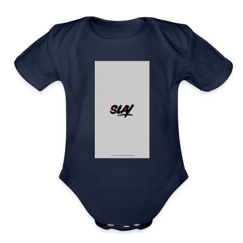 Slay - Organic Short Sleeve Baby Bodysuit