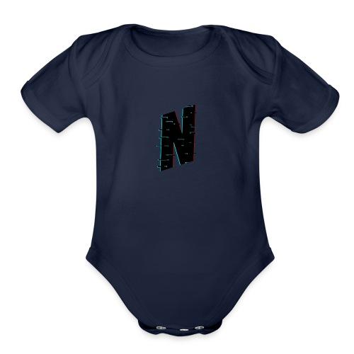 merch logo - Organic Short Sleeve Baby Bodysuit