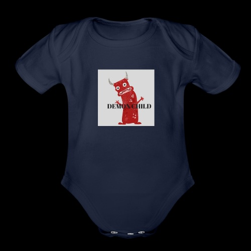 Demon Child - Organic Short Sleeve Baby Bodysuit