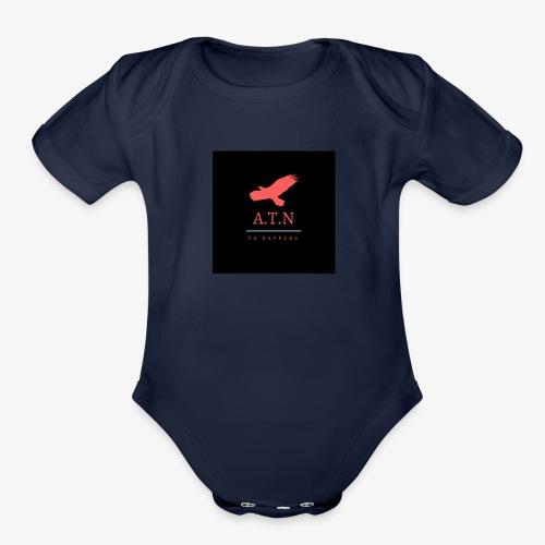ATN exclusive made designs - Organic Short Sleeve Baby Bodysuit