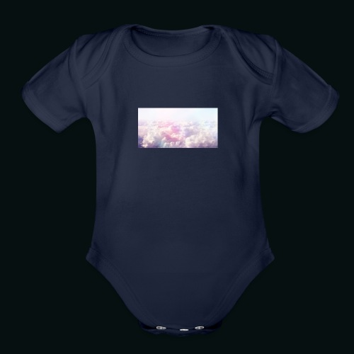 eye in the sky - Organic Short Sleeve Baby Bodysuit