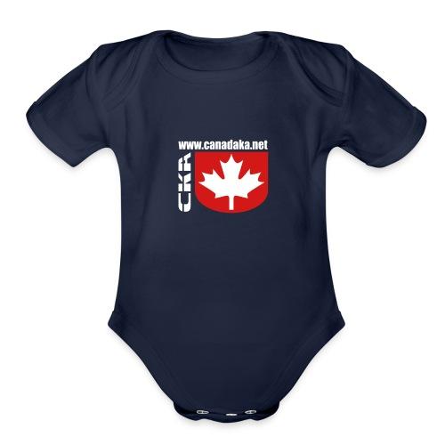 CKA Back 2 - Organic Short Sleeve Baby Bodysuit