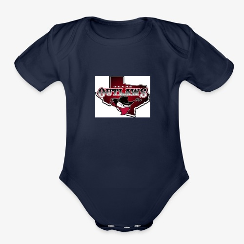 TEAM30846 - Organic Short Sleeve Baby Bodysuit