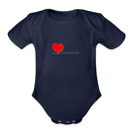 Damnd - Organic Short Sleeve Baby Bodysuit