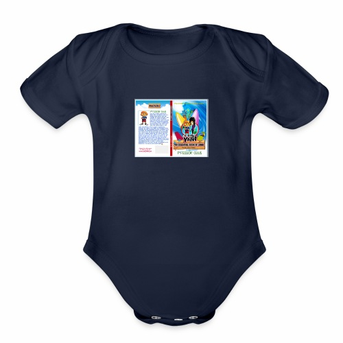 An Essential Book of Good by P fessor Guus cover - Organic Short Sleeve Baby Bodysuit