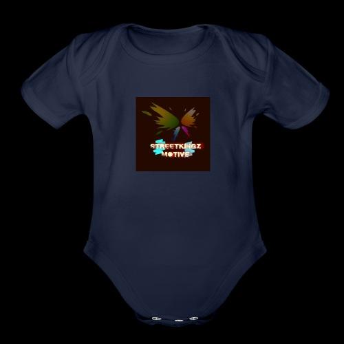 Streetkingz motive - Organic Short Sleeve Baby Bodysuit