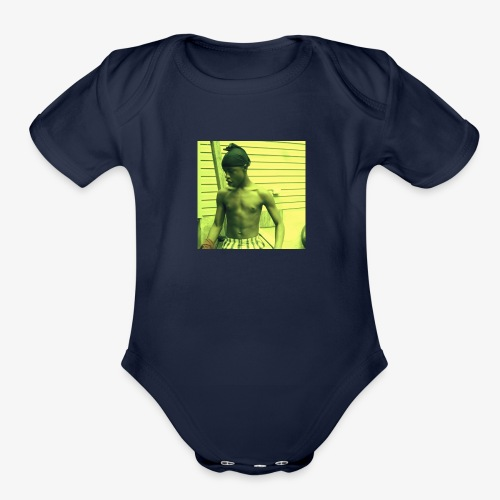 Osias body - Organic Short Sleeve Baby Bodysuit