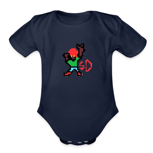 StevenDoes - Organic Short Sleeve Baby Bodysuit