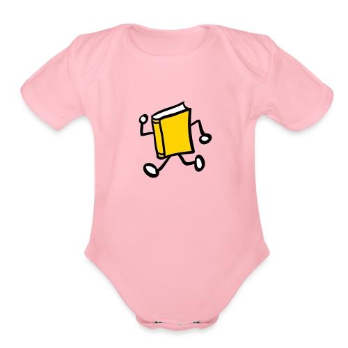 internal bally solo 3 colour - Organic Short Sleeve Baby Bodysuit