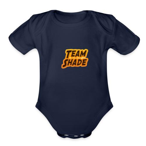 Team Shade LOGO - Organic Short Sleeve Baby Bodysuit