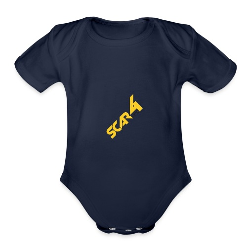 scar4life aparrel/accesories - Organic Short Sleeve Baby Bodysuit
