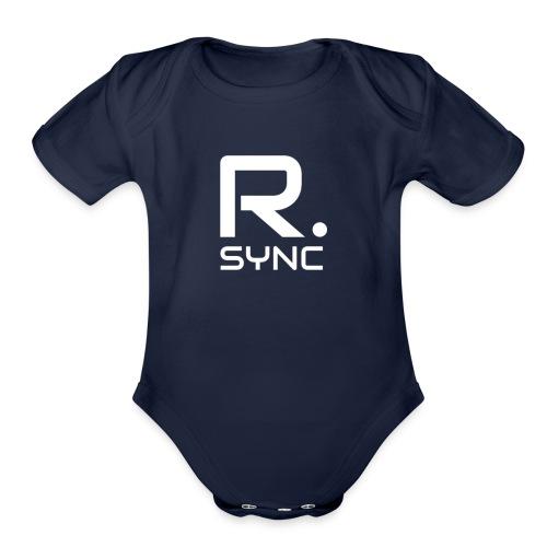 R.SYNC - Organic Short Sleeve Baby Bodysuit