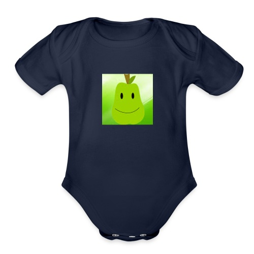 Untitled 2 - Organic Short Sleeve Baby Bodysuit