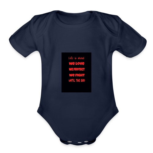 2017 14 11 03 25 24 - Organic Short Sleeve Baby Bodysuit