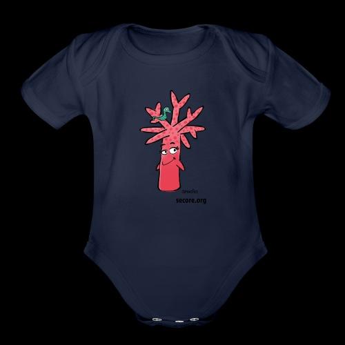 Bran Ramosy - Organic Short Sleeve Baby Bodysuit