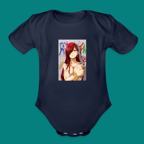 titiana - Organic Short Sleeve Baby Bodysuit