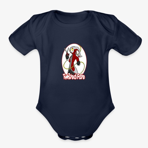 Twisted Fate - Organic Short Sleeve Baby Bodysuit