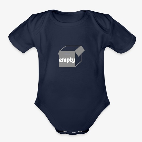 empty shop - Organic Short Sleeve Baby Bodysuit