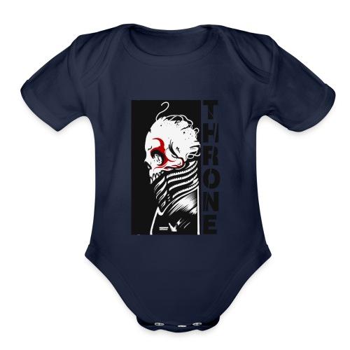 d11 - Organic Short Sleeve Baby Bodysuit