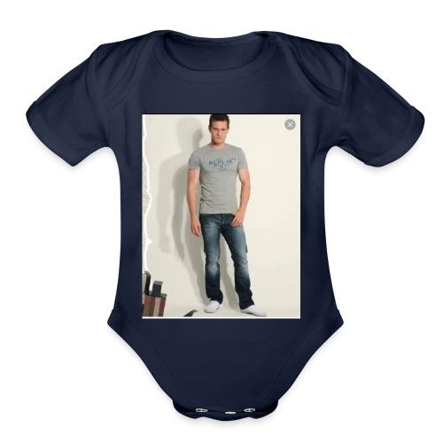 TIchot - Organic Short Sleeve Baby Bodysuit
