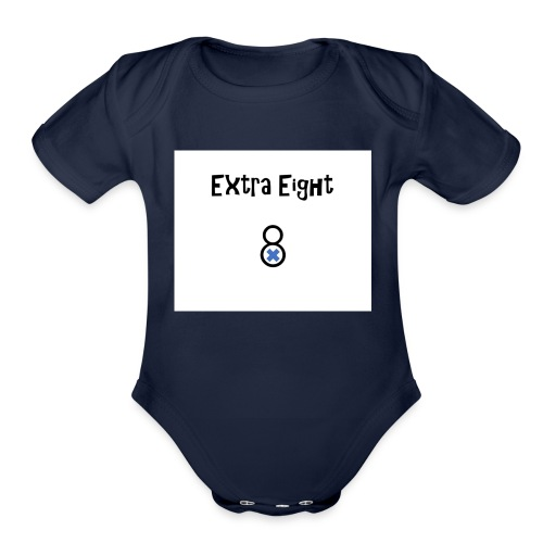 The Extra 8 - Organic Short Sleeve Baby Bodysuit