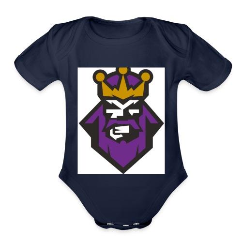 KingYron - Organic Short Sleeve Baby Bodysuit