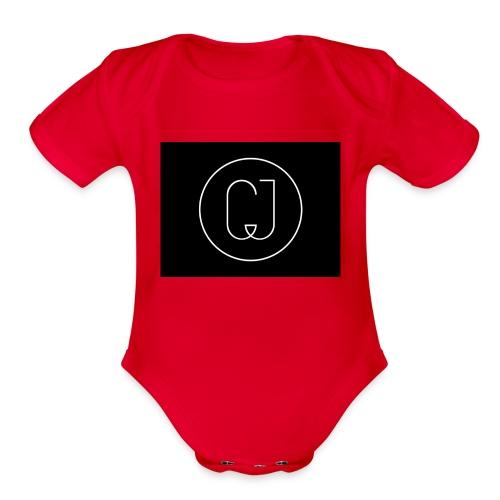 CJ - Organic Short Sleeve Baby Bodysuit