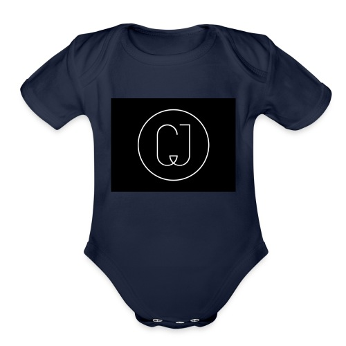 CJ - Organic Short Sleeve Baby Bodysuit