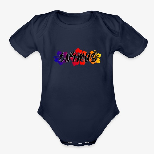EMG Beach Party - Organic Short Sleeve Baby Bodysuit