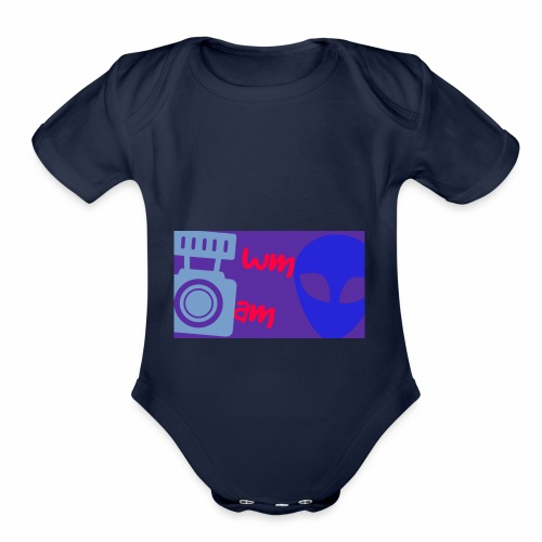 Wwe Moves and more - Organic Short Sleeve Baby Bodysuit