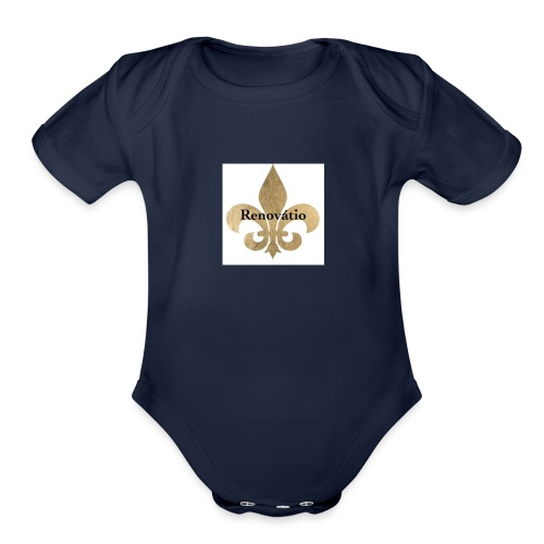 Royalty - Organic Short Sleeve Baby Bodysuit