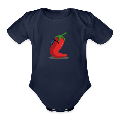 Chile - Organic Short Sleeve Baby Bodysuit