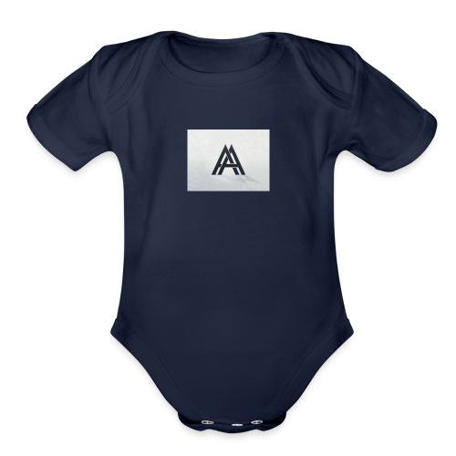 A&A - Organic Short Sleeve Baby Bodysuit