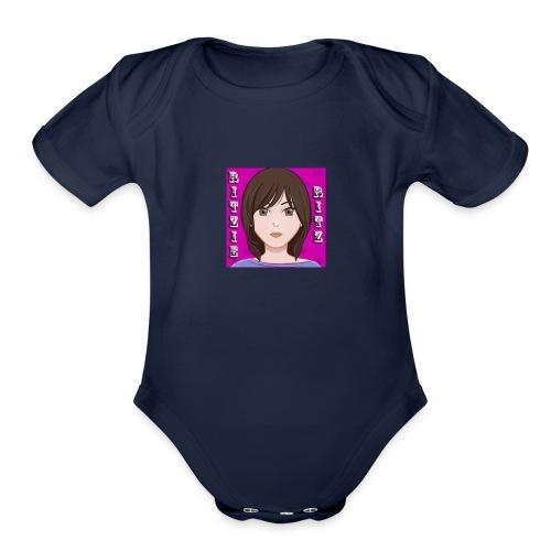 Ritzie Gear - Organic Short Sleeve Baby Bodysuit
