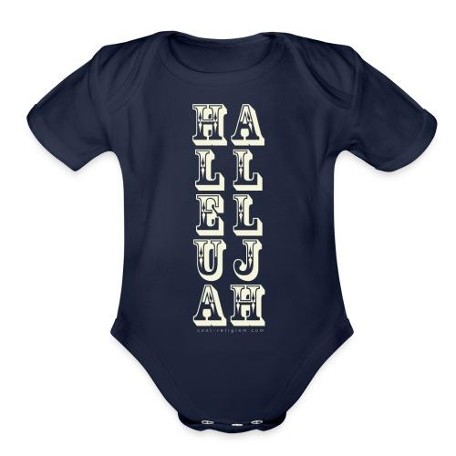 Hallelujah - Wild West Style - Organic Short Sleeve Baby Bodysuit