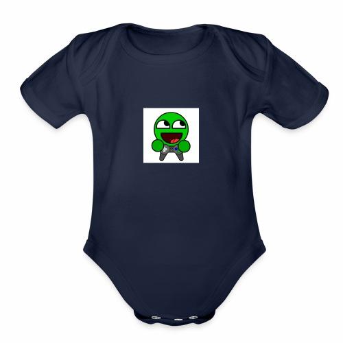 mruch 2 - Organic Short Sleeve Baby Bodysuit