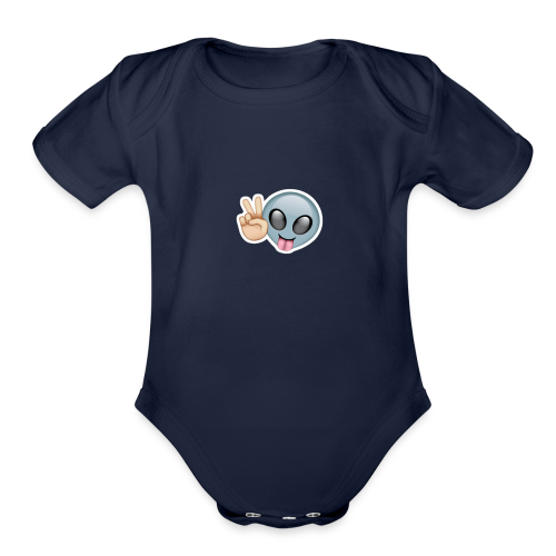 GRAVITNATORS - Organic Short Sleeve Baby Bodysuit