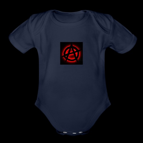 BadMeatGAMING MERCH - Organic Short Sleeve Baby Bodysuit